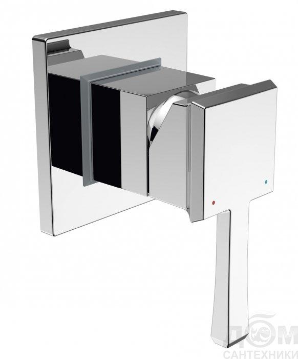 Смеситель BelBagno Mille MIL ESDM CRM для душа Отвод Devon&Devon SF3351CR в пол для сифона