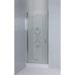 Душевая дверь в нишу Cezares Giubileo B 11 80 CP Cr L Душевой уголок Vegas Glass AFA-F 110*90 05 01 R профиль бронза, стекло прозрачное