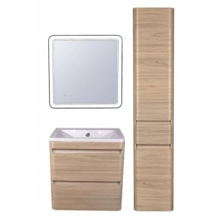 Дом Сантехники - Мебель для ванной El Fante Атлантика 60 см подвесная ясень перламутр