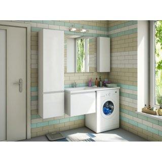 Мебель под стиральную машину Эстет Даллас 120 один ящик купить в Москве с доставкой - Дом Сантехник