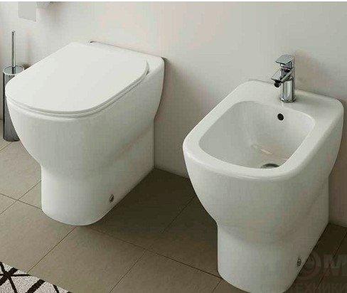 Биде напольное Ideal Standard Tesi T354001 Акриловая ванна Radomir Астория Стандарт Bronze правая