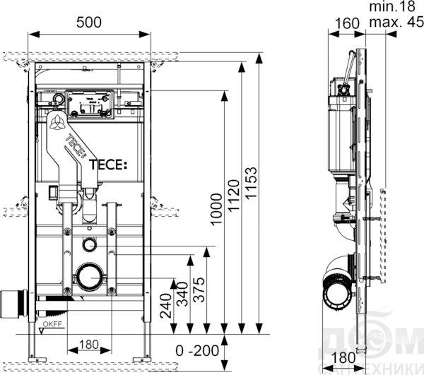 инструкция по установке инсталляции tece
